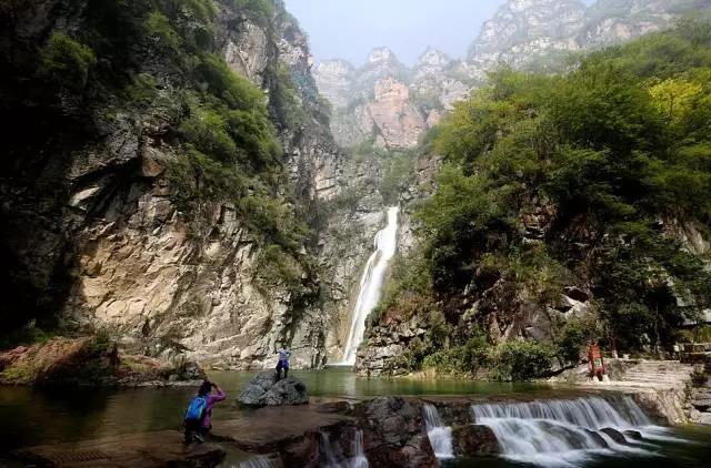 宝泉秘境 玻璃观景台 云台山西区青龙大峡谷 陪嫁庄村